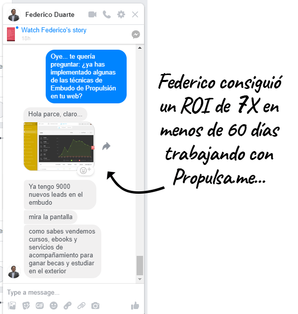 Chat FB Federico