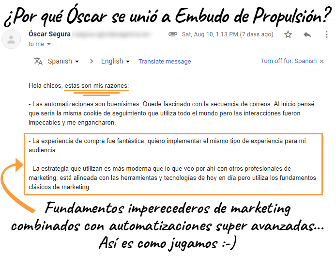 Correo Óscar